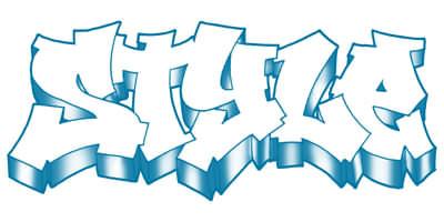 Easy Graffiti Styles Chinese Graff style