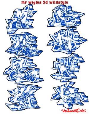 Graffiti Letters A Z