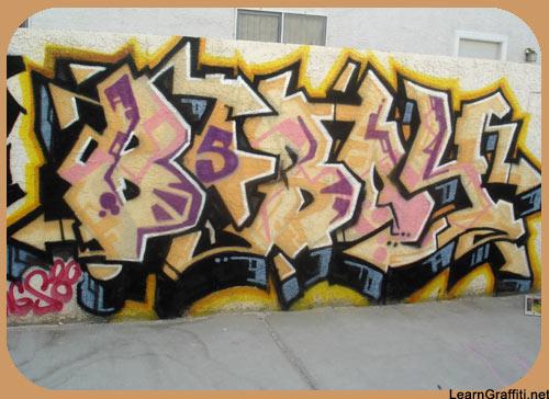 Bboy Graffiti Graffiti Wall Bboy